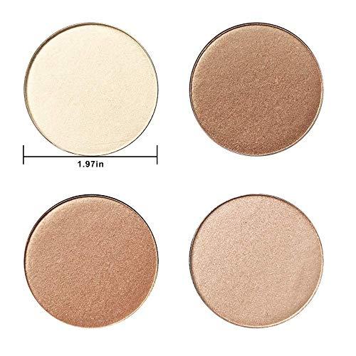 Highlighter Palette,Highlighter Makeup Palette, Glow Bronzer Highlighter Powder Kit,Face illuminator makeup palette