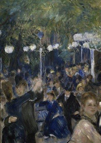 Posterazzi Ball at The Moulin de la Galette (Detail) 1876 Pierre-Auguste Renoir (1841-1919/French) Musee D'Orsay Paris Poster Print, (24 x 36)