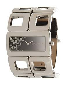 Custo Watches CU016202 - Reloj de Señora cuarzo metálico Acero-Negro