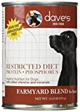 Dave's Restricted Protein Diet, Chicken for Dogs, 13 oz Can (Case of 12)
