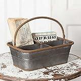 Rustic Metal Bingo Basket