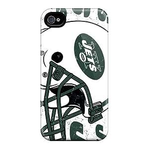 Iphone 6 VlF16351HeZQ Custom Nice New York Jets Skin Bumper Hard Cell-phone Cases -DrawsBriscoe