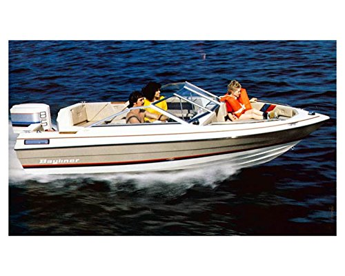 1983 Bayliner 1600 Capri Bowrider Power Boat Factory (1600 Boat)