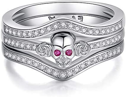 EVBEA Sterling Stackable Engagement Zirconia product image