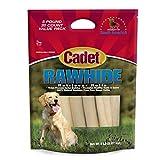 Cadet Rawhide Retriever Rolls, 100% Beef Rawhide Rolls for Dogs, 5 lb.