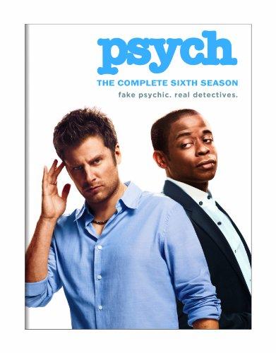DVD : Psych: Season 6