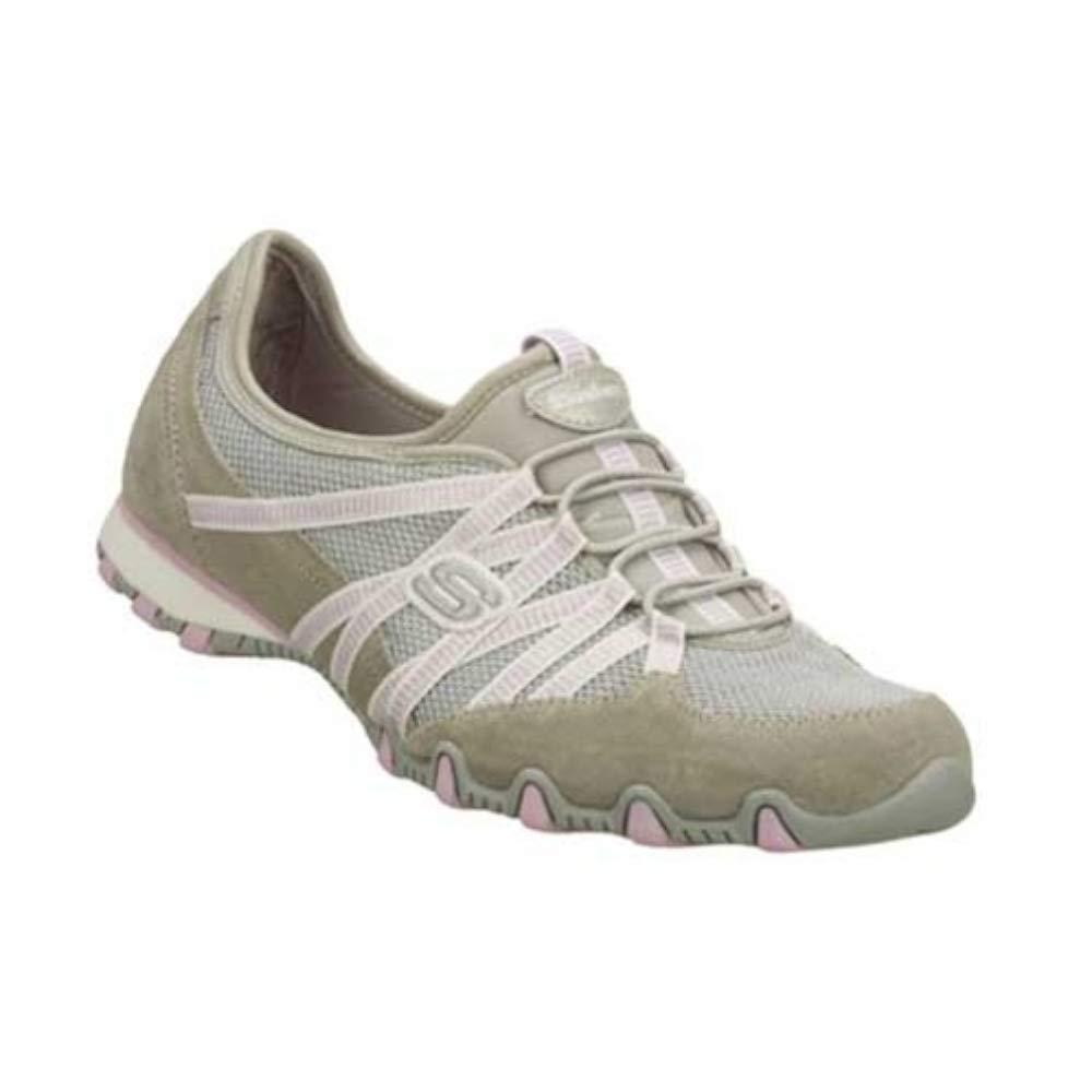 Beste Skechers Beige Rose Damen Sneaker BIKERS HOT TICKET