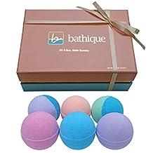 (6) Extra Large (8.8oz) Bath Bombs - Lush Spa Bath Gift Set for Women - Mother's Day Bath Gift Box