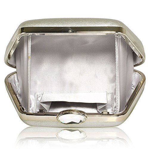 Handbag Designer design Ladies 1 Evening With Clutch Silver Case Box New Hard Design Womens Chain Bag Different U4qPYx8