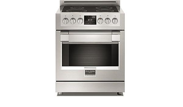Fulgor – Cocina a Inducción FSRC 3004 P Mi Ed 2 F x Acabado Acero Inoxidable DE 75,8 cm: Amazon.es: Hogar