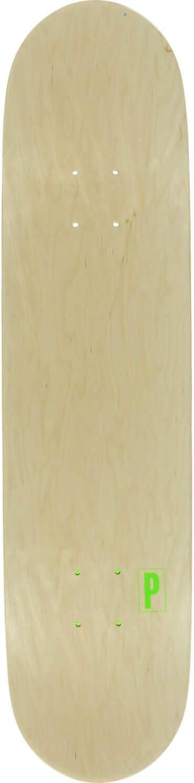Preservation Skateboards Brand Identification Green Skateboard Deck Bundle of 2 Items 8.125 x 32 with Jessup Black Griptape