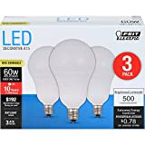 Feit Electric A1560C/850/10KLED/3 60W Equivalent Daylight Non-Dimmable LED Light Bulb (3 Pack)
