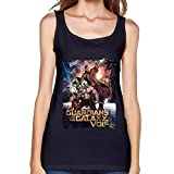 Women's Black Tank Top Vest Guardians Of The Galaxy Vol 2 Poster