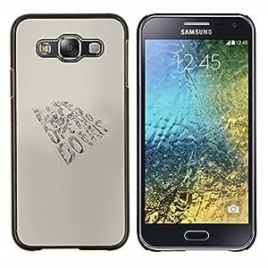 Stuss Case / Funda Carcasa protectora - VIDA - altibajos - Samsung Galaxy E5 E500