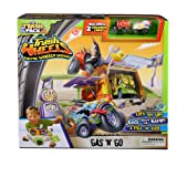 Trash Pack Wheels Gas 'N' Go Playset