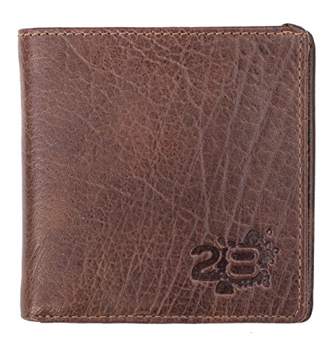 Leather The Twenty8 Brown Bank Twenty8 Mens The Bank Cognac Wallet Designer OqTw61R