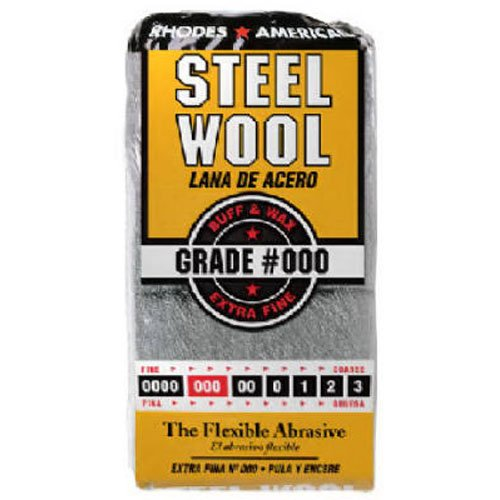 HOMAX PRODUCTS 10121000 Number 000 Steel Wool, 12-Pack