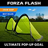 Forza Flash Pop Up Soccer Goal – Ultimate PRO Portable Soccer Goals with Carry Bag – Available in 2.5ft, 4ft & 6ft – [Net World Sports] (4ft) Review