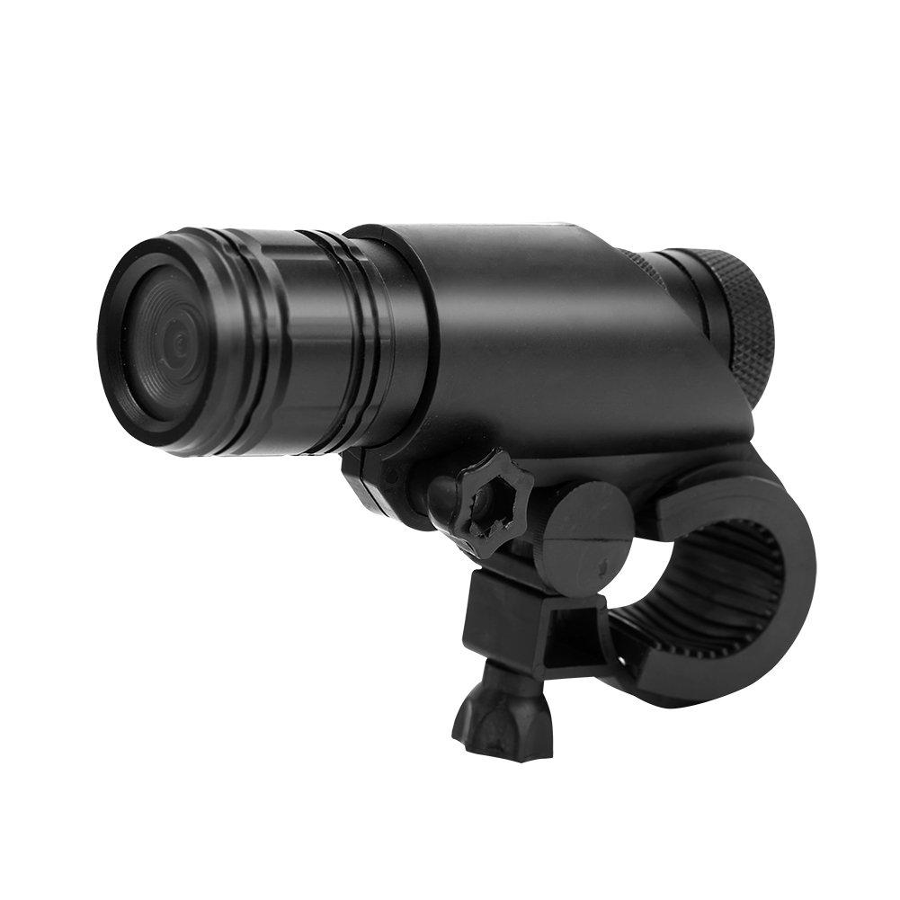 Zerone MC28 Digital Camcorder, Bike Motorcycle Helmet Video Camera Waterproof 8MP 720P Digital Video Recorder with Mount Kit 120 Degree Sports Camera for Climbing Riding