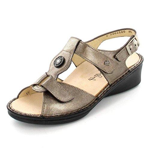 Finn Comfort Women's Adana Sandals,Metallic,2 M EU / 4.5 B(M) US