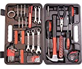CARTMAN 148-Piece Tool Set - General Household Hand Tool Kit with Plastic Toolbox Storage Case