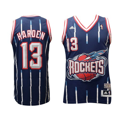 half off 0842b 11d69 adidas Houston Rockets James Harden Hardwood Classics HWC Swingman Jersey