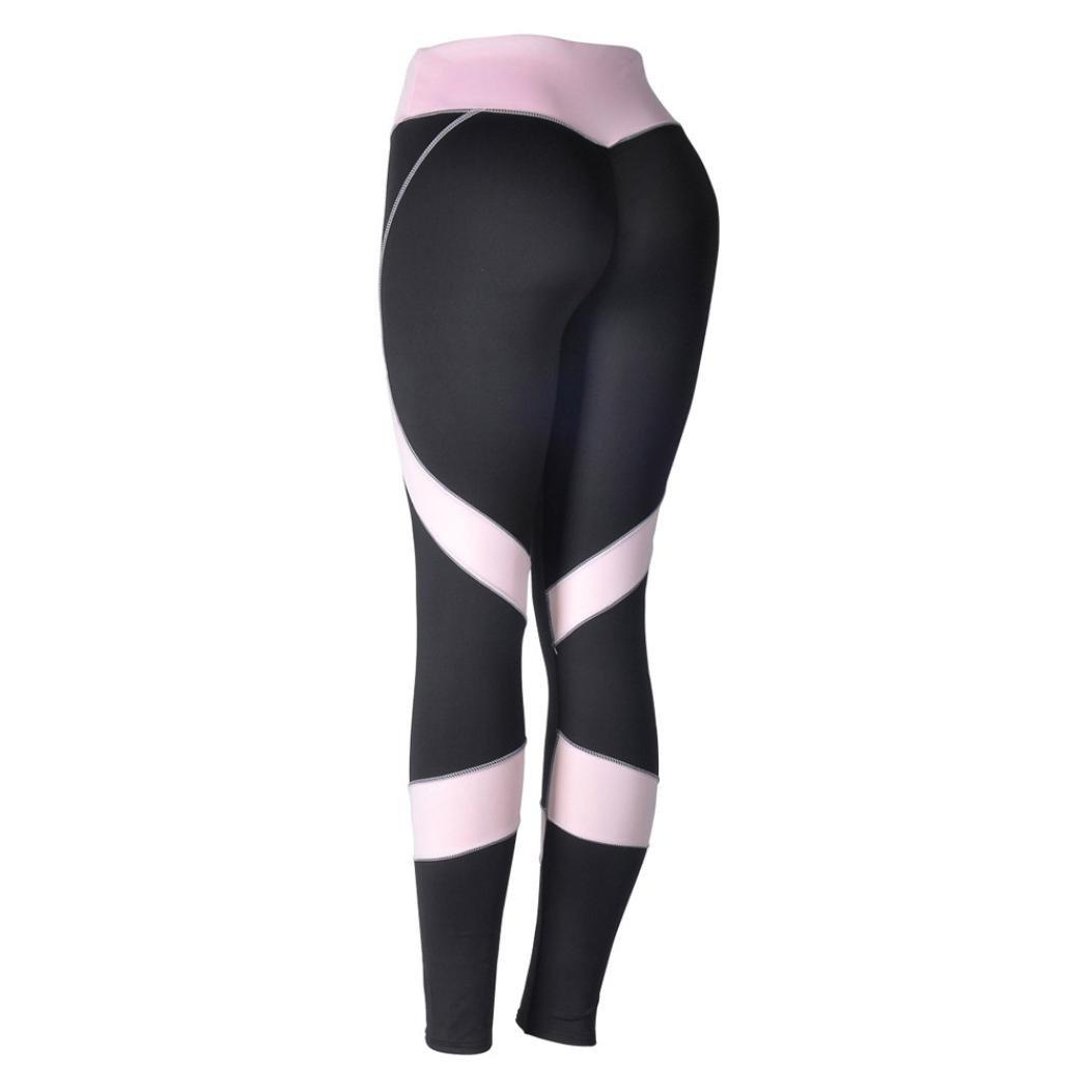 877fbfe395ebf Amazon.com: Quartly Yoga Pants, Womens Skinny High Waist Workout Fitness  Sports Gym Running Yoga Leggings Athletic Pants: Clothing