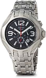 Esprit ES101641004 - Reloj de caballero de cuarzo, correa de acero inoxidable color plata