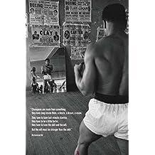 Muhammad Ali Gym Champions Sports Poster Print - 24x36