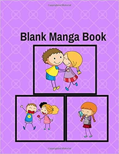 Blank Manga Book: Your Own Anime Manga Comics Design Sketchbook