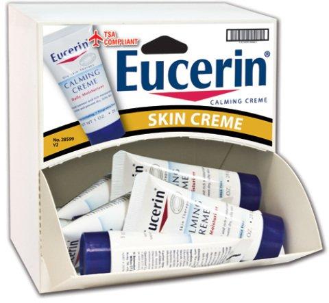Travel Size Eucerin Calming Cream Dispensit Case 144 pcs sku# 1865441MA by DDI
