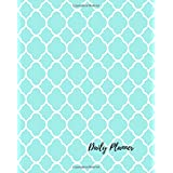 Daily Planner: Quatrefoil Pretty 100 Days Daily Planner Journal Notebook. Space For Hourly Schedule, Tasks, Outfits, Phone calls, Meals Exercise.  Agenda Notepad For Men & Women