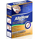 AligNow - Bunion Relief Pack - 2 Bunion Pads , 2 Toe Spacers, Pouch - For Pain Relief and Proper Toe Alignment by AligNow