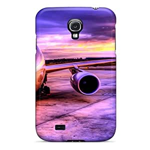 Galaxy S4 Case Cover - Slim Fit Tpu Protector Shock Absorbent Case (super Liner)