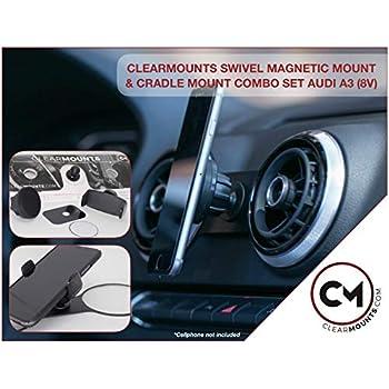 best magnetic phone mount 2020 Amazon.com: Clearmounts Audi Phone Holder   Magnetic & Cradle
