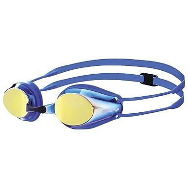 c93c409f17 Arena Tracks Jr Mirror Junior Goggles 1E560 Bluey Ello Wrevo Blue Blue One  Size