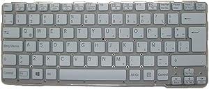 Laptop Keyboard for Sony VAIO SVE14A 9Z.N6BBF.R1E 149116911LA 55012FYG2G1-035-G Latin America LA White