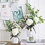 Kirifly-Artificial-Flowers-Silk-Roses-Fake-Plants-Eucalyptus-Leaves-Berries-Flower-Arrangements-Wedding-Bouquets-Decorations-Floral-Table-Centerpieces-Plastic-Indoor-Faux-Plants-DcorWhite