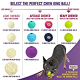 Chew King Fetch Balls Extremely Durable Natural
