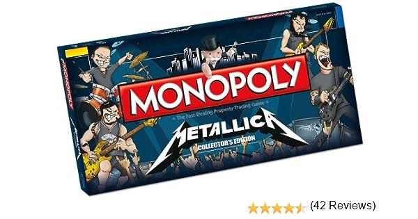 Metallica Monopoly Board Game: Metallica Monopoly: Amazon.es: USAopoly: Libros en idiomas extranjeros
