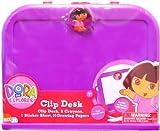 : Jakks Pacific Flying Colors Dora The Explorer Activity Clip Desk