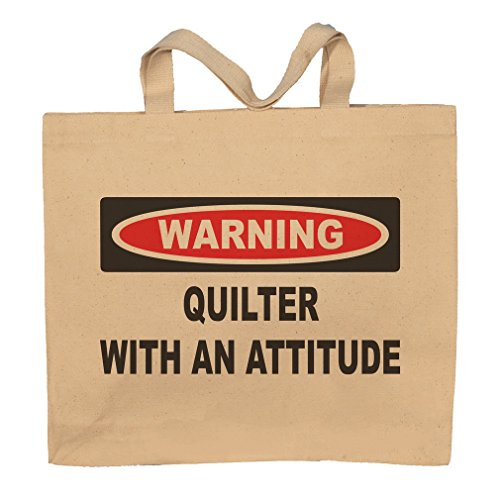 Quilter With An Attitude Totebag Bag by T-ShirtFrenzy