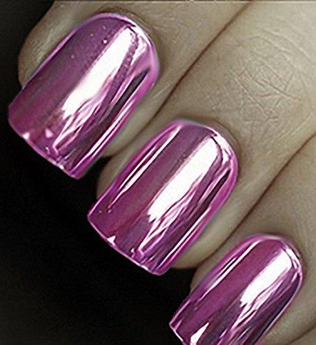 Minx Nails So Berry Fine Chrome, Purple Lavender Chrome, 0.2 Ounce
