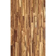 High Quality 3D Small Leaf Acacia Natural Hardwood Wall Cladding/ Panel 18.55sqft/Package 6pc/Package