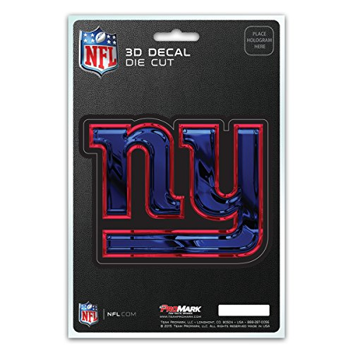 - Team ProMark NFL New York Giants 3-D Decal