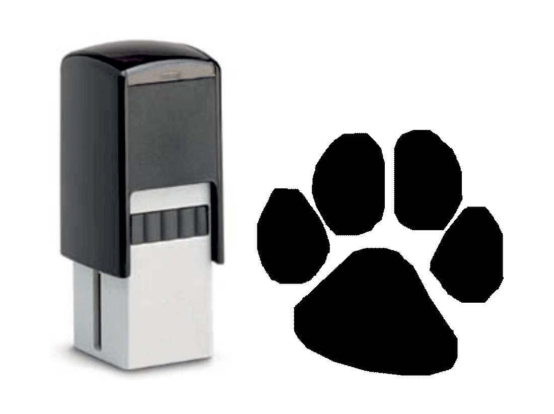 Bonus Tarjetas sello « Huella » sello con diseño 10x 10mm–Bonus tarjeta venta Bonus Animales Acción Exterior DEKOLANDO 0720066435546