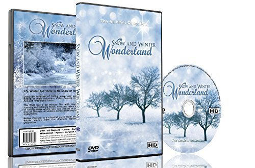 - Christmas DVD - Falling Snow & Winter Wonderland with Beautiful Winter Scenery and Snowfalls