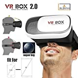 ALDIVO 3D Vr Box For Xiaomi Redmi Note 3 With Bluetooth Remote Control / Virtual Reality Headset 3D Glasses Version 2.0 Vr Box For Xiaomi Redmi Note 3