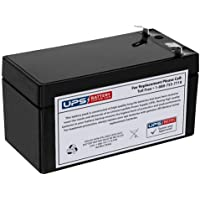 UPSBatteryCenter® Compatible Replacement Battery 12V 1.3Ah F1 for N000000004039