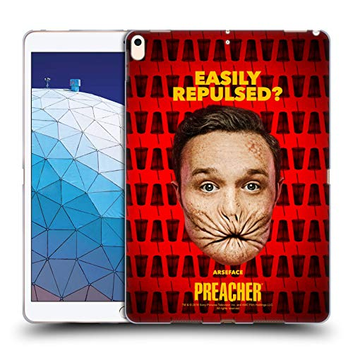 Official Preacher A Face Season 3 Character Art Soft Gel Case Compatible for iPad Air (2019)